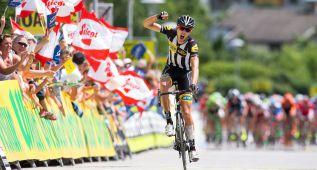 Van Zyl gana en una caótica etapa del Tour de Austria