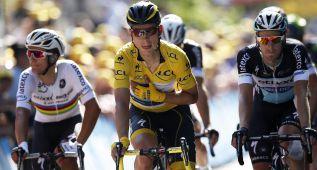 Martin abandona y Froome no llevará el maillot amarillo