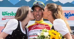 Víctor de la Parte, nuevo líder del Tour de Austria