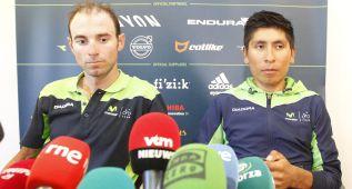 """Nairo y Valverde: """"Iremos al ataque en nuestro terreno"""""""