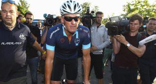 """Armstrong: """"Cargo con la culpa por las sospechas sobre Froome"""""""