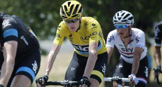 Froome se muestra molesto por las sospechas de doping
