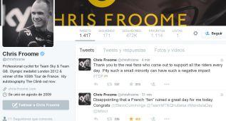 "Chris Froome: ""Me tiraron orina y me llamaron dopado"""