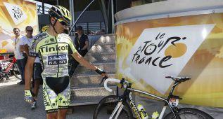 """Contador: """"En el tú a tú tengo menos fuerzas que Froome"""""""