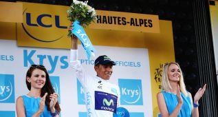 "Nairo Quintana: ""Tengo ganas de que lleguen los Alpes"""