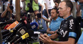El Sky mostró los valores de Froome, que mira a la Vuelta