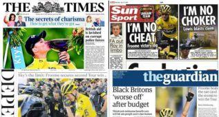 División en la prensa ante el segundo Tour de Froome