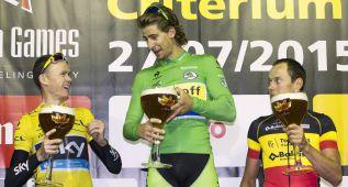 Sagan vence a Froome en el Critérium de Aalst