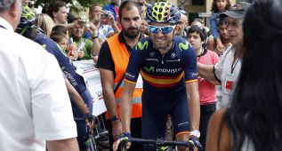 """Alejandro Valverde: """"He podido remontar y entrar el tercero"""""""