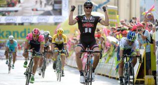 Kittel logra su primera victoria de 2015 en la Vuelta a Polonia
