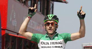 Carlos Barbero gana la primera etapa de la Vuelta a Burgos