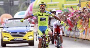 Bodnar gana la etapa y Zielinski es el nuevo líder