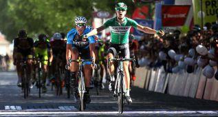Prades gana la octava etapa y Veloso, líder antes de la crono