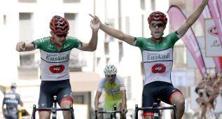 El Euskadi dinamitó la etapa y Mikel Aristi se llevó la general