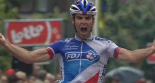 Le Bon gana la cuarta etapa y Kelderman es el nuevo líder