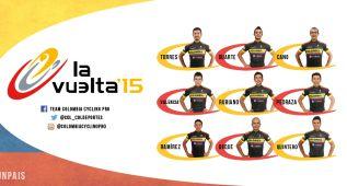 Torres y Rubiano, líderes del Colombia para la Vuelta