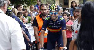 """Valverde: """"Nairo y yo miramos a la general"""""""