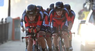 BMC ganó al albero en la Vuelta