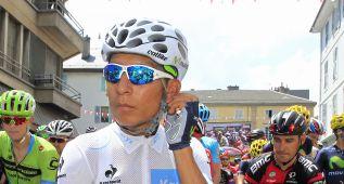 """Nairo, tras la segunda etapa: """"He venido a ganar la Vuelta"""""""