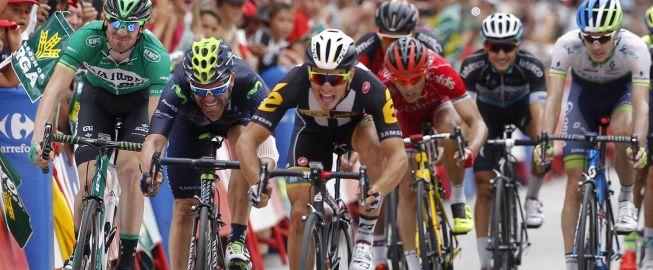 Sbaragli vence a Degenkolb y Rojas en el sprint de Castellón