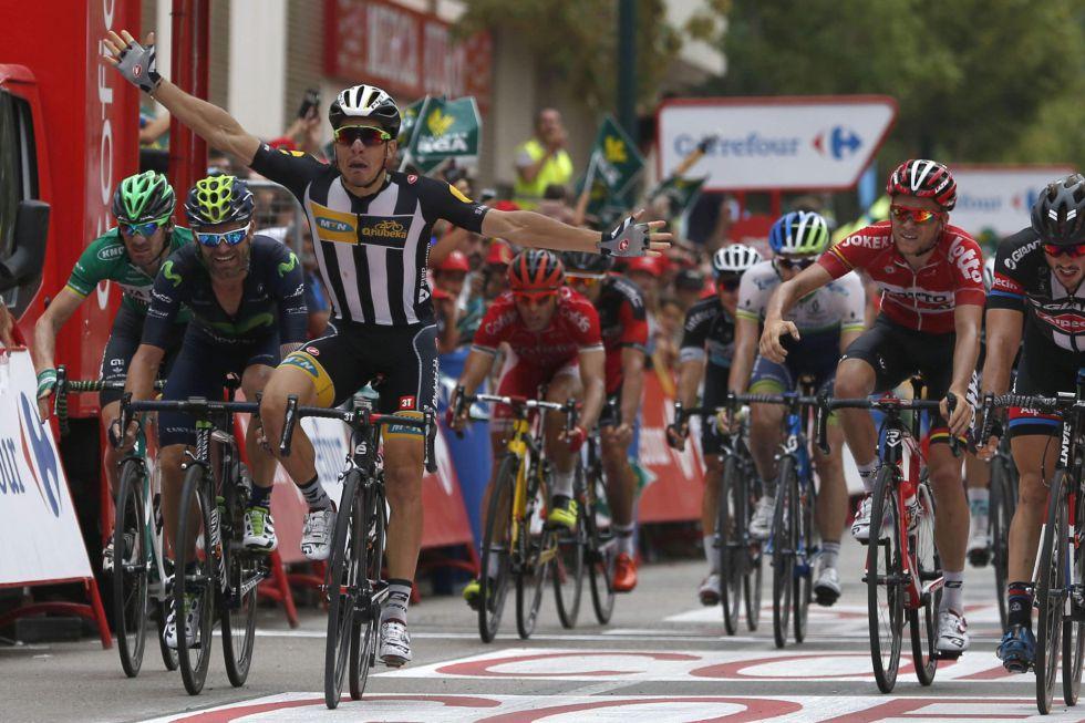 Vuelta a España: Sbaragli ganó antes de la guerra