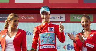 """Aru: """"Me alegro por Landa, me ayudó mucho en el Giro"""""""