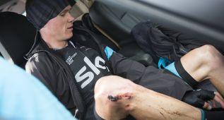 Froome abandona: tiene un pie roto y no salió en Andorra