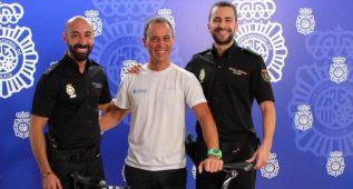 La Policía da el 'maillot a rayas' al ladrón de la bici del Orica