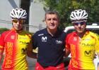 Tres españoles disputan las primeras cronos individuales