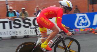 Leo Appelt, campeón júnior de crono, Pablo Alonso 23º