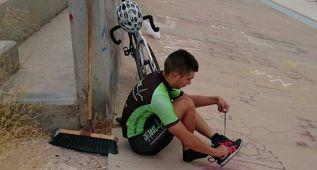 El entrenamiento de un campeón en un velódromo en ruinas