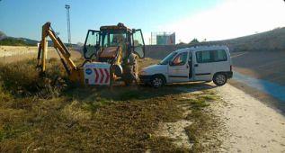 El ayuntamiento de Novelda ya adecenta el velódromo