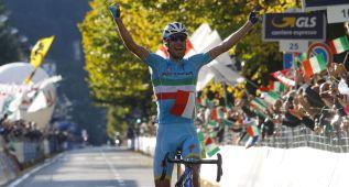 Nibali se resarce en Lombardía y Dani Moreno sube al podio
