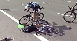 Boonen se fractura la cabeza