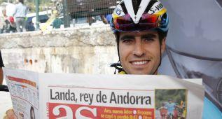 """Landa: """"Sé que Sky me apoyará para intentar conquistar el Giro"""""""