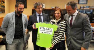 El Gobierno Vasco apoyará en su maillot al Murias Taldea