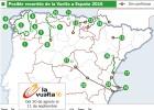 La Vuelta a España 2016 tendrá diez llegadas en alto