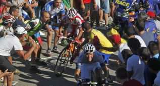 La Vuelta planea su final en Cantabria en Peña Cabarga