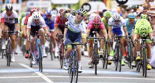 Caleb Ewan estrena el World Tour con un triunfo al sprint