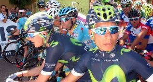 """Nairo Quintana: """"Intentamos romper la carrera en la subida"""""""