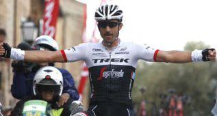 Exhibición de Fabian Cancellara en el Trofeo Sierra Tramuntana