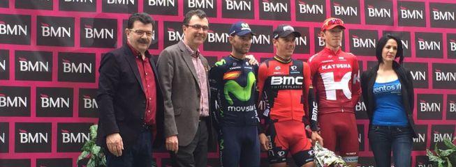 Gilbert birló la victoria a los murcianos Valverde y Luisle