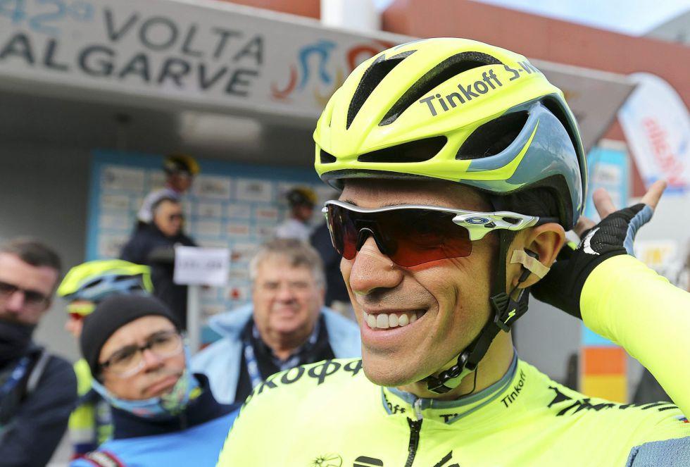 """Alberto Contador: """"Iré bastante mejor en la subida del domingo"""""""