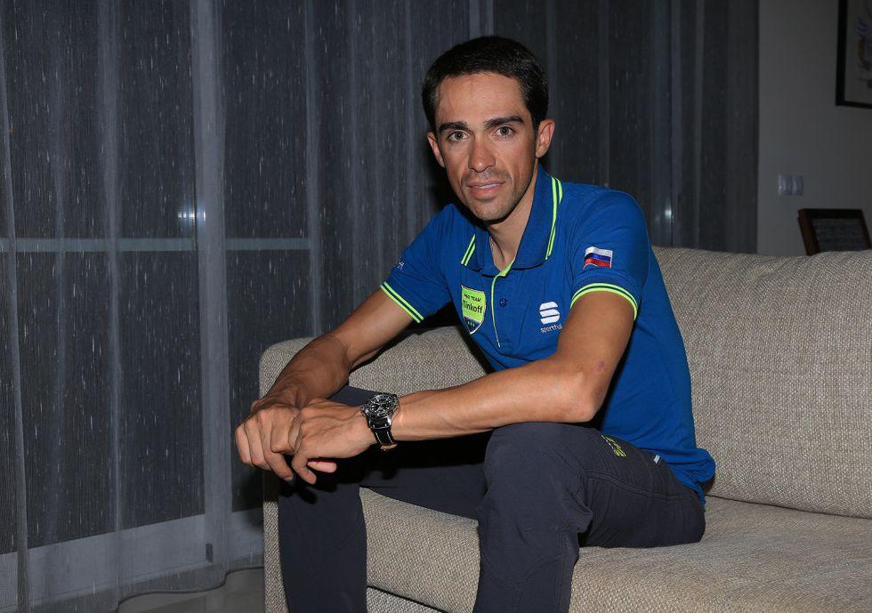 """Alberto Contador: """"No me veo viejo, todavía tengo chispa"""""""