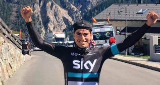 Mikel Landa avisa para el Giro: etapa y liderato en el Trentino