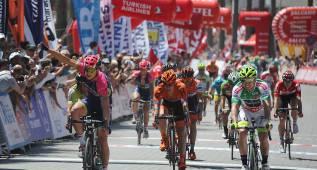 Modolo gana la etapa, Pello abandona y Gonçalves es líder