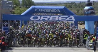 8.000 bikers inundan Sariñena en la Orbea Monegros 2016