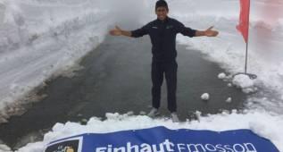Nairo Quintana mira al Tour de Francia: visitó Finhaut-Emosson