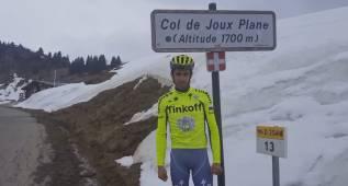 """Contador, desde el Joux Plane: """"Ya he hecho los deberes"""""""