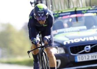 """Valverde: """"Ahora ya puedo decir que he corrido un Giro"""""""